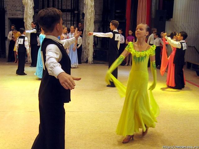 Городской конкурс бальных танцев