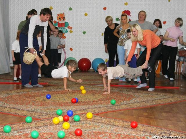 Совместные конкурсы с детьми
