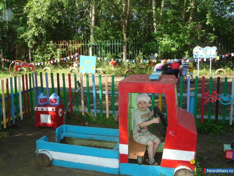 Участки в детском саду для детей