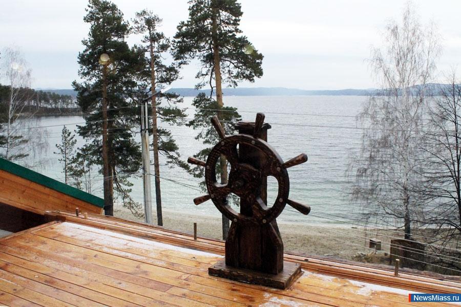 Вид на озеро Тургояк