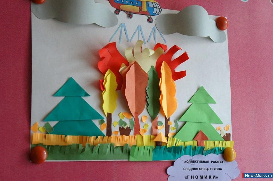 Поделки пожарной безопасности в детском саду своими руками